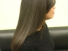 Straight hair, Keratin